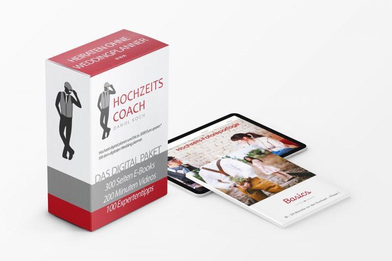 Angebot zum Hochzeitsplanung Digitalpaket