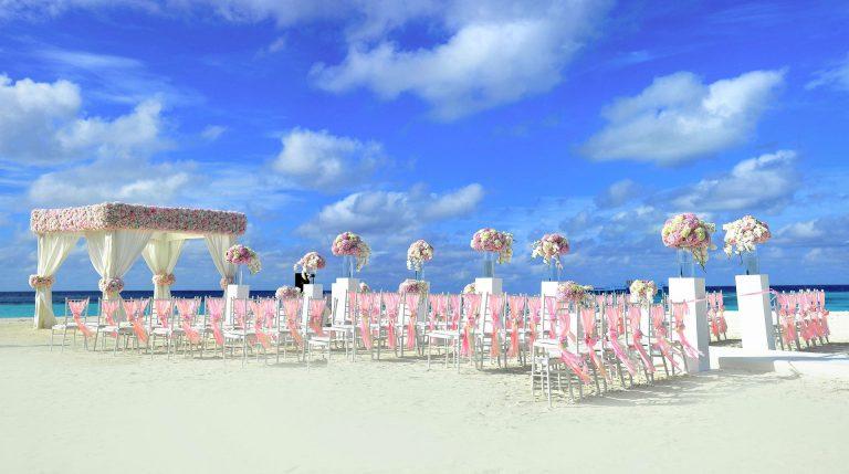 Hochzeits-Location am Strand
